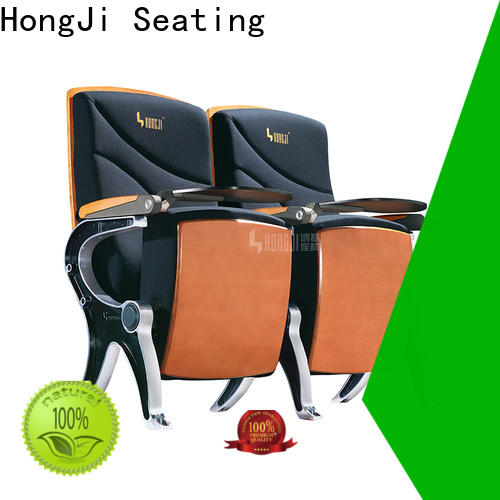 HONGJI folding auditorium chairs supplier for university classroom