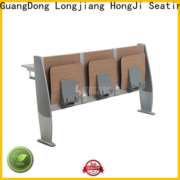 HONGJI ISO14001 certified classroom furniture factory for school