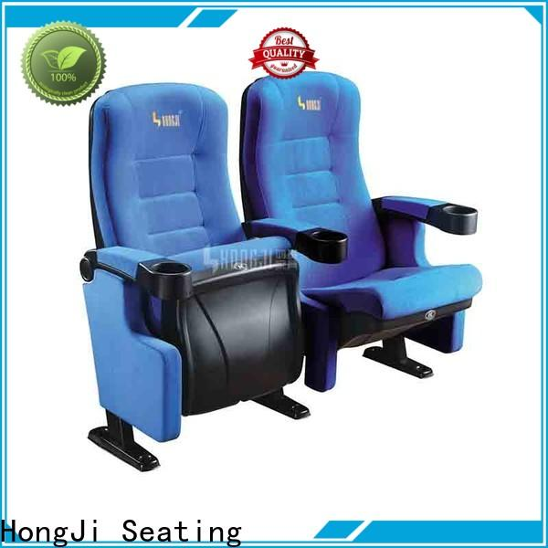HONGJI elegant theater chairs directly factory price for sale