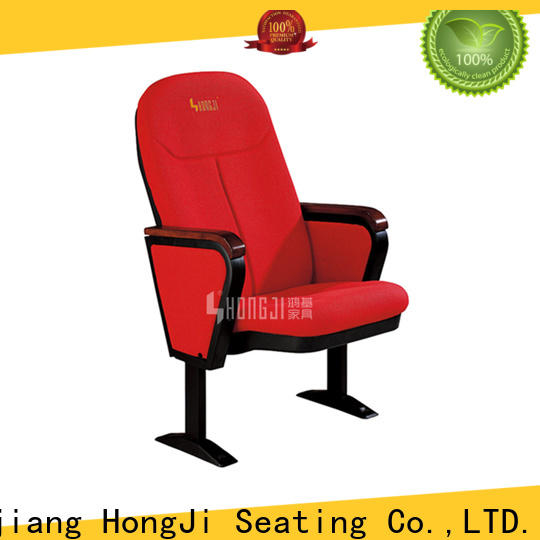 HONGJI newly style cinema hall chairs manufacturer for office furniture