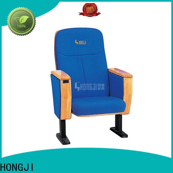 HONGJI high-end church auditorium seating manufacturer for cinema