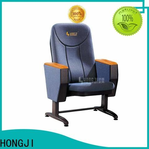 HONGJI auditorium seating chairs manufacturer for university classroom