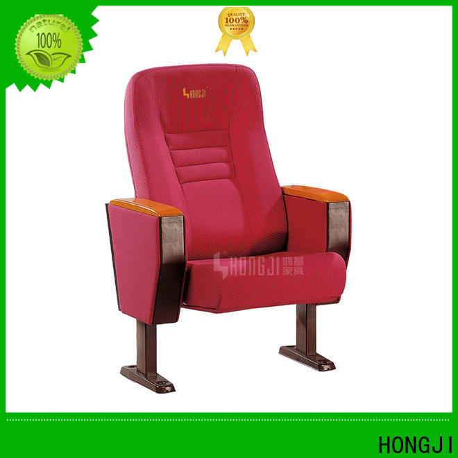 HONGJI elegant 5 seat theater seating factory for university classroom