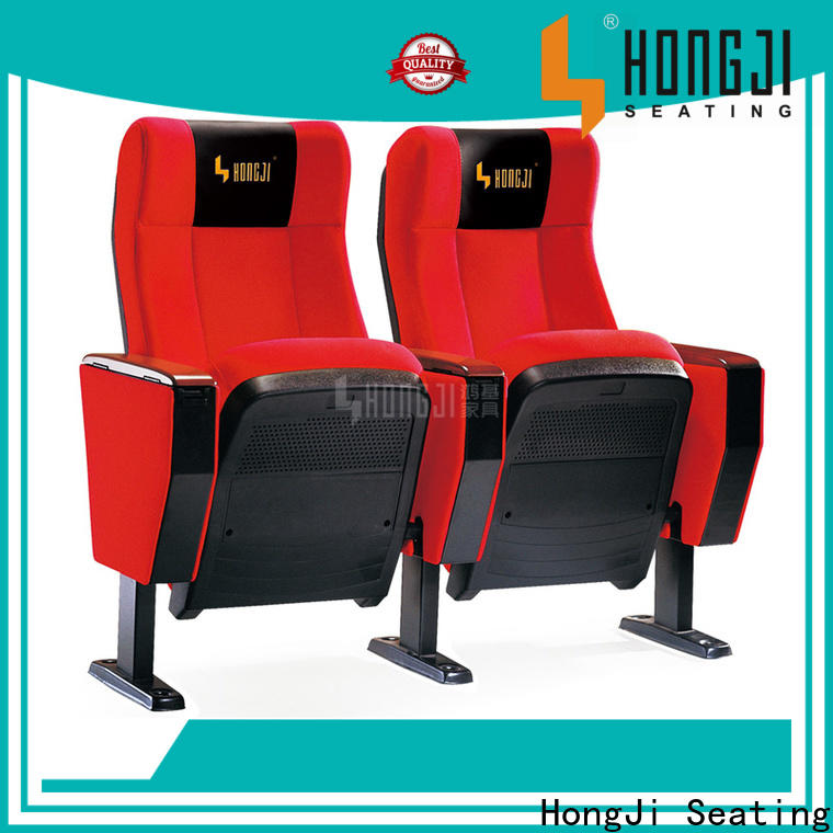 HONGJI excellent auditorium seat manufacturer for sale