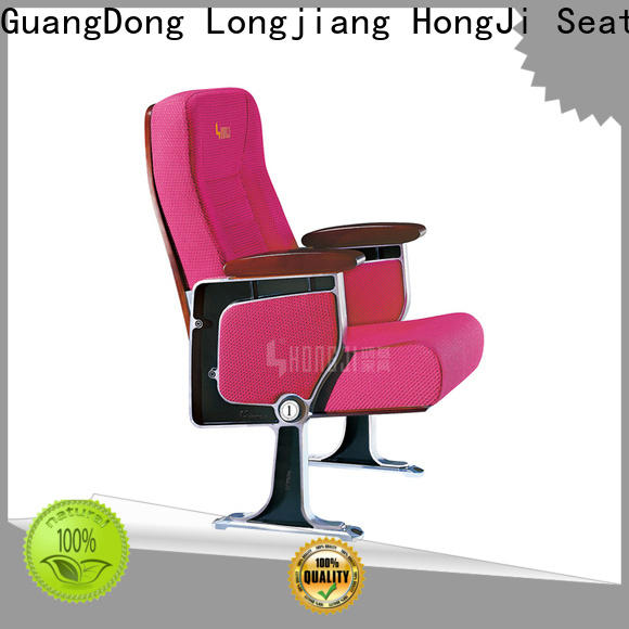 outstanding durability two seat theater seating high-end factory for student