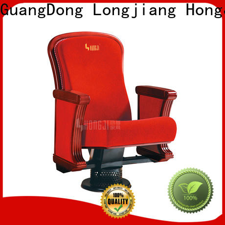 HONGJI outstanding durability lecture hall chairs factory for office furniture