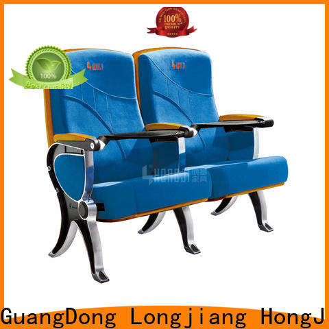 HONGJI elegant high end theater seating supplier for cinema