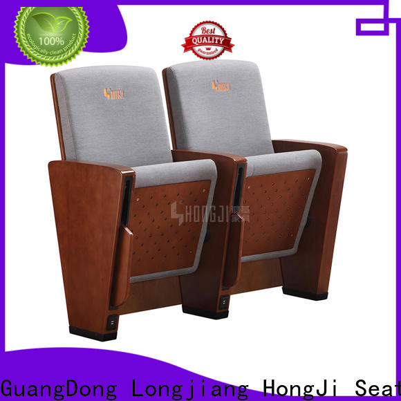 HONGJI excellent church chairs factory for university classroom