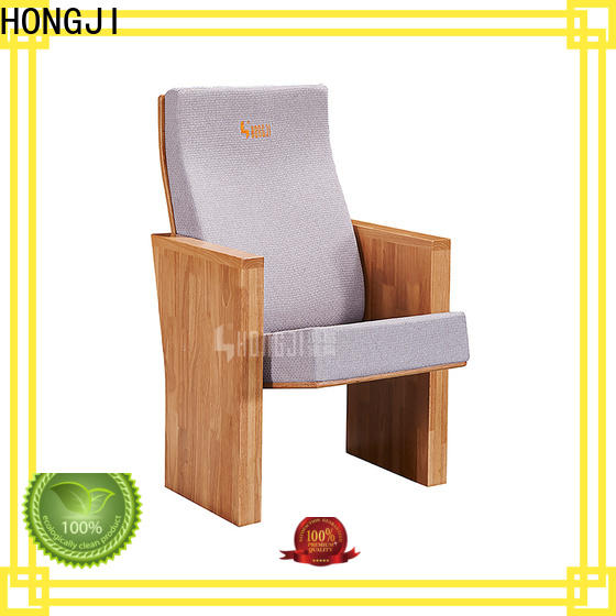 HONGJI newly style auditorium chair manufacturer for office furniture