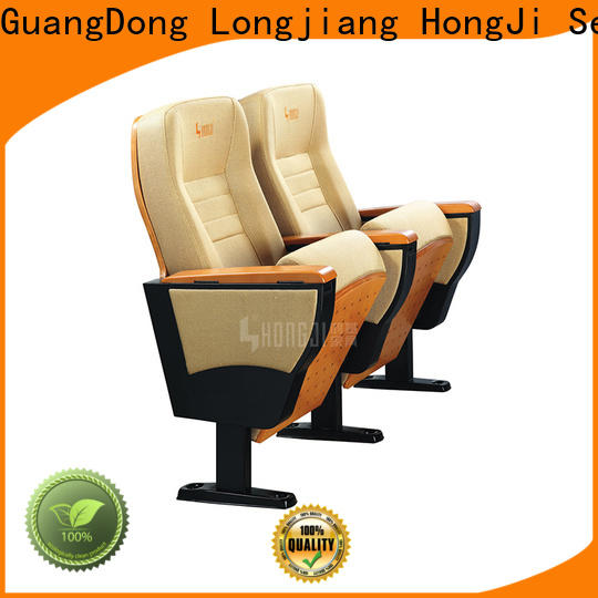 HONGJI excellent theater chair dimensions supplier for cinema