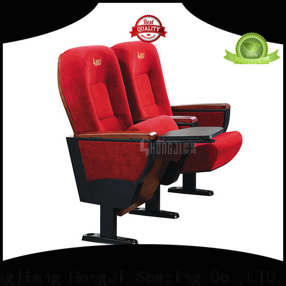 HONGJI newly style two seat theater seating supplier for student
