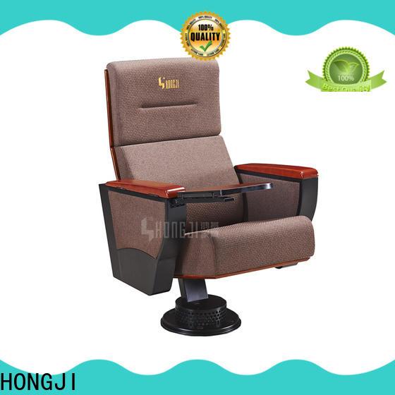 HONGJI elegant 2 seat theater seating supplier for student