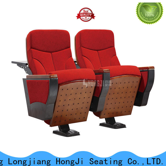 HONGJI elegant affordable theater seating manufacturer for student