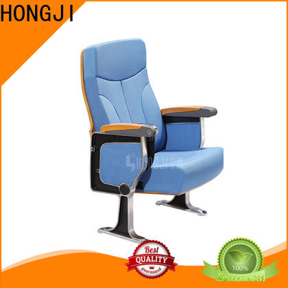 HONGJI newly style cinema hall chairs manufacturer for sale
