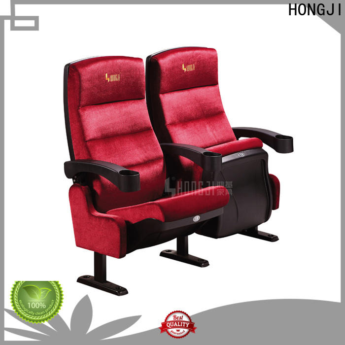 HONGJI hj16f movie theater recliners for sale factory for cinema
