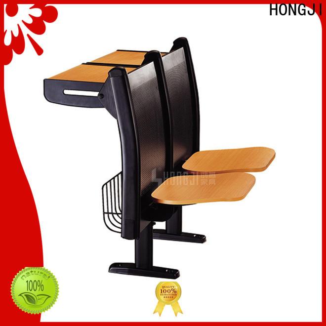 HONGJI ISO14001 certified school desk dimensions fpr classroom