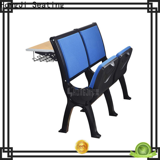 HONGJI ISO9001 certified classroom tables and chairs fpr classroom