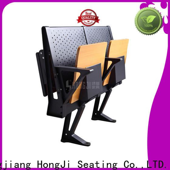 HONGJI ISO14001 certified student chair supplier for university