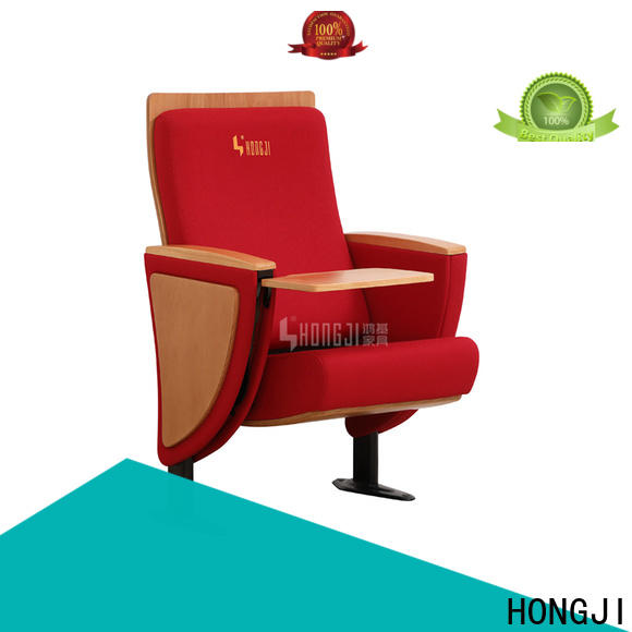 HONGJI elegant affordable theater seating factory for cinema