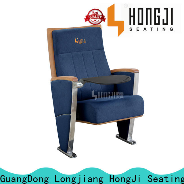 HONGJI double theater chairs factory for university classroom