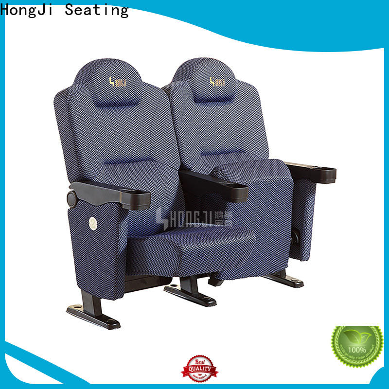 elegant theater room furniture hj815b directly factory price for cinema