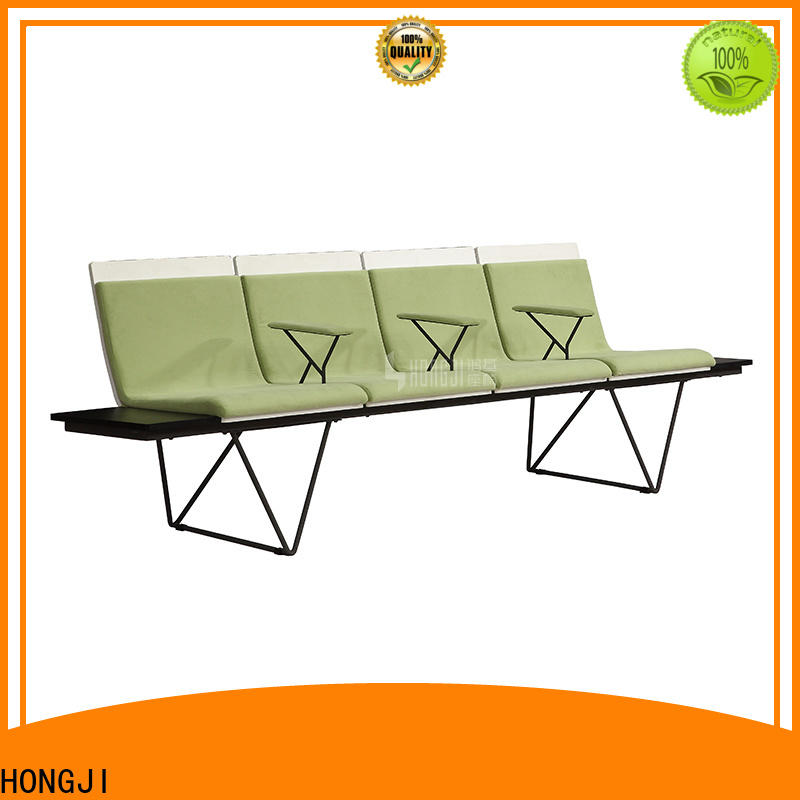 HONGJI European style waiting room chairs public seating solution for bank