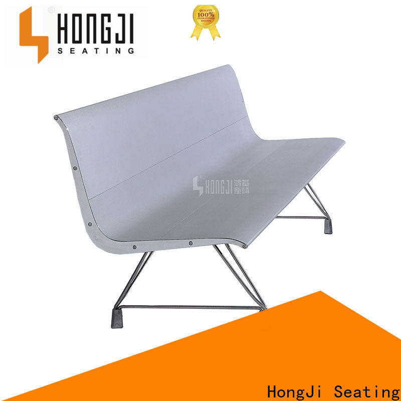 HONGJI durable in use waiting room bench seating for hosiptal