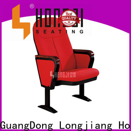 HONGJI lecture hall chairs supplier for cinema