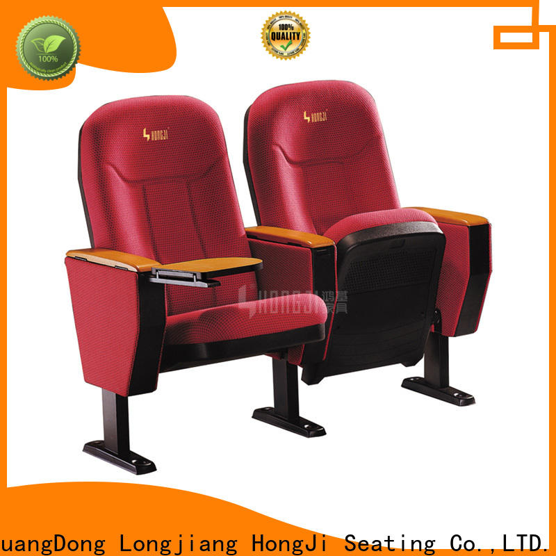 HONGJI high-end commercial theater seating manufacturers supplier for cinema
