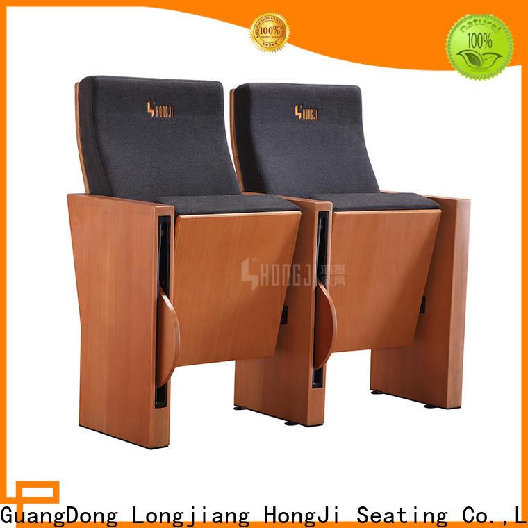 HONGJI excellent auditorium chair manufacturer for university classroom