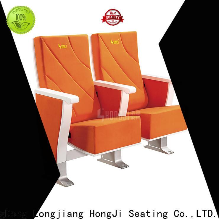 HONGJI elegant custom theater seating manufacturer for sale