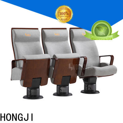 HONGJI elegant media room theater seating factory for university classroom