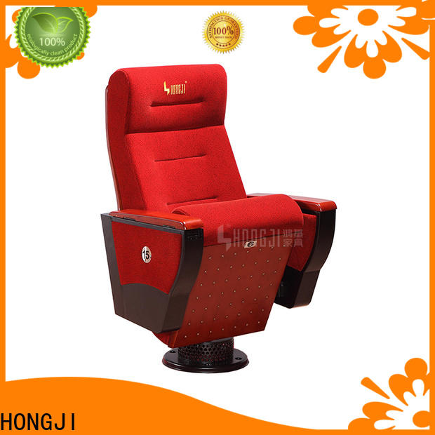 HONGJI elegant auditorium seating design standards factory for student