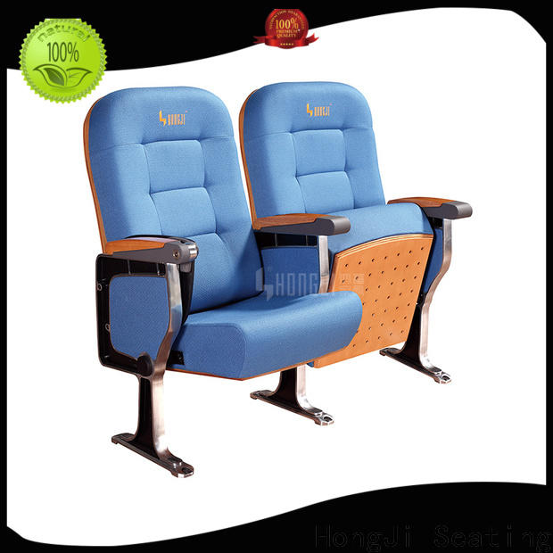 HONGJI leather theater seats manufacturer for student