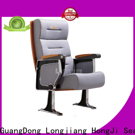 HONGJI fabric theater seating factory for student