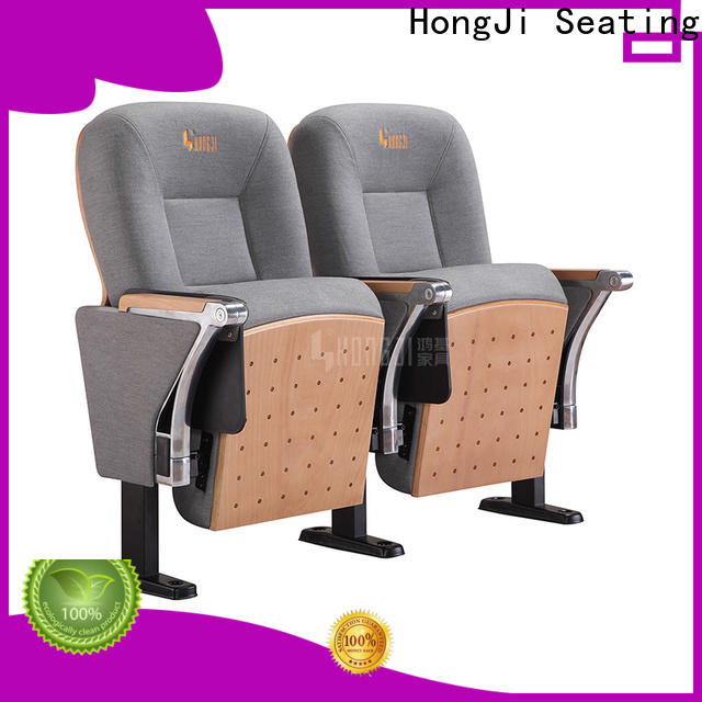 HONGJI elegant lecture theatre seating manufacturer for sale