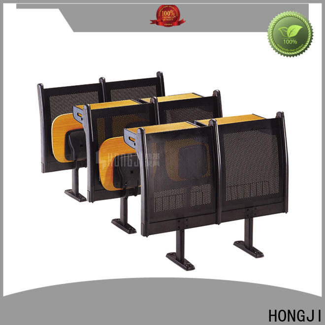 HONGJI ISO14001 certified student desk chairs manufacturer fpr classroom
