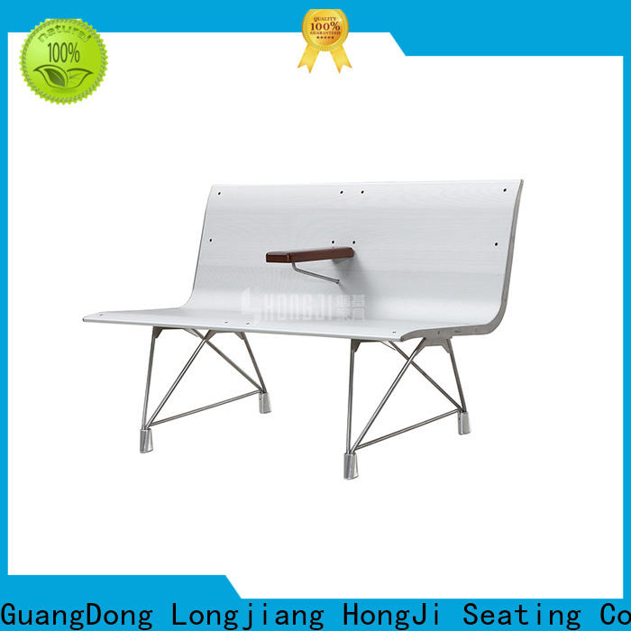 HONGJI h60e3 waiting bench public seating solution for bank
