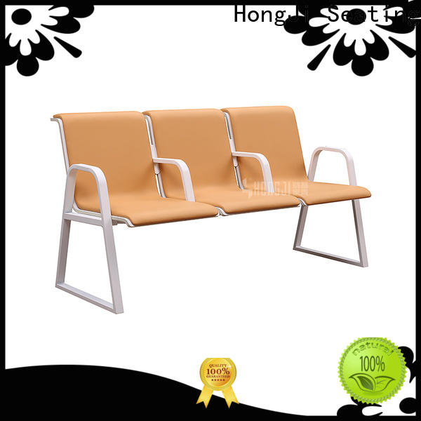 HONGJI European style reception area chairs fine workmanship for airport