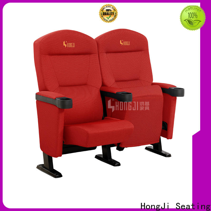 HONGJI elegant home theater chairs directly factory price for importer