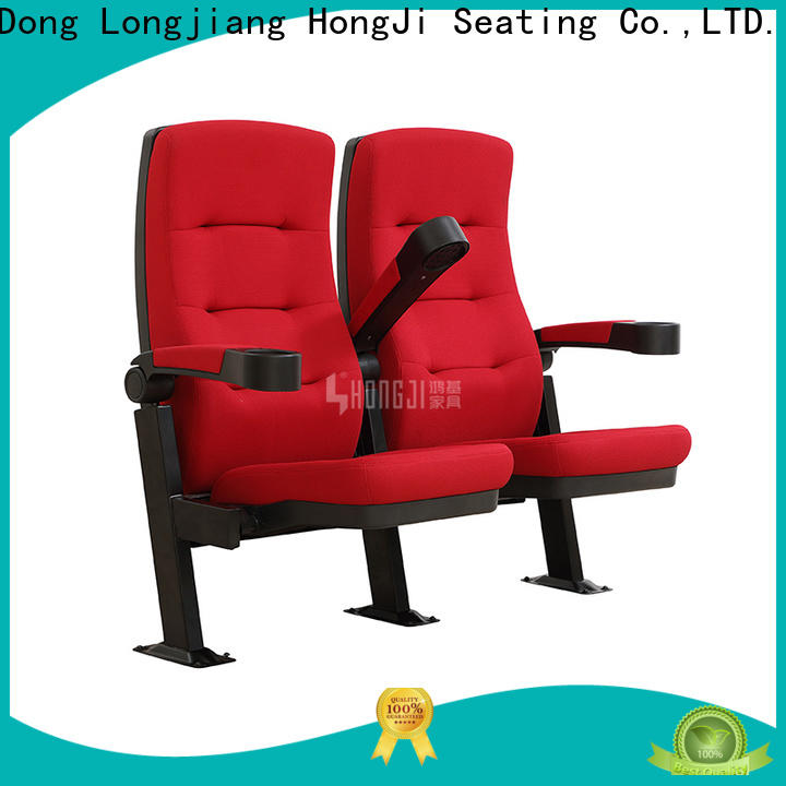 elegant theater seating hj9401 factory for cinema