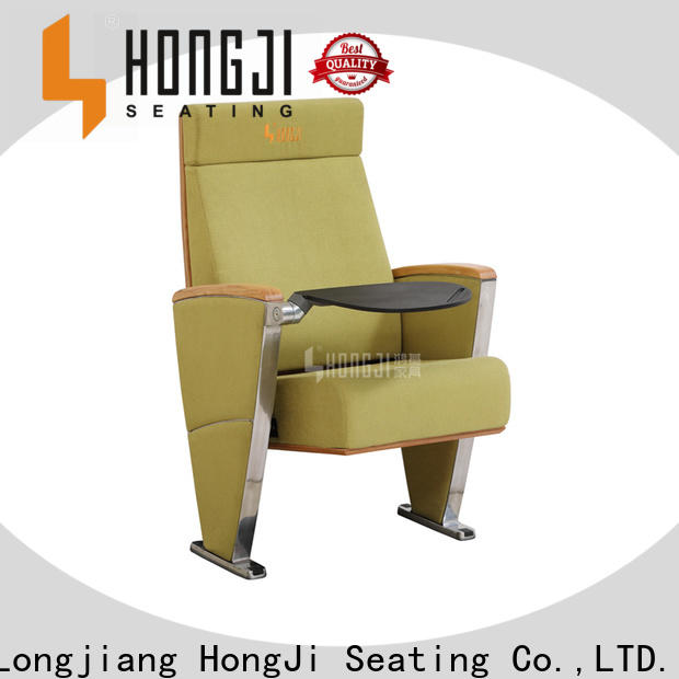 HONGJI unique theater seating manufacturer for student