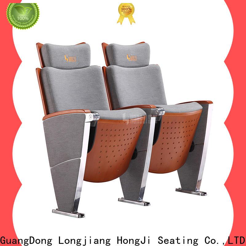 HONGJI elegant lecture theatre chairs manufacturer for student