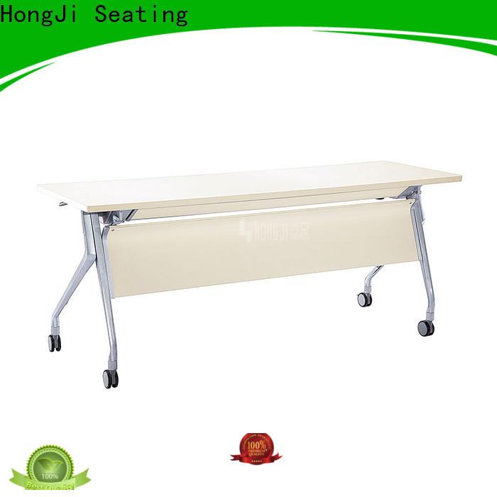 HONGJI movable office desk factory for classroom