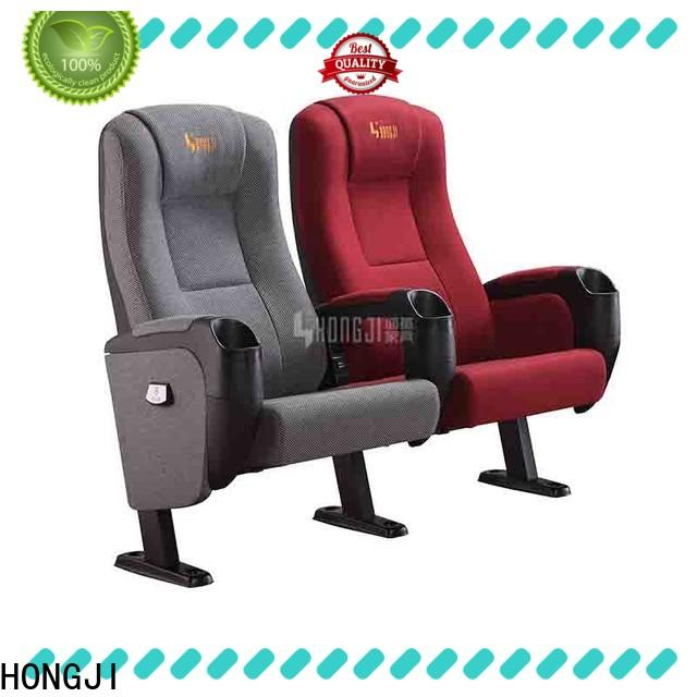 HONGJI fashionable movie theater with reclining seats factory for importer