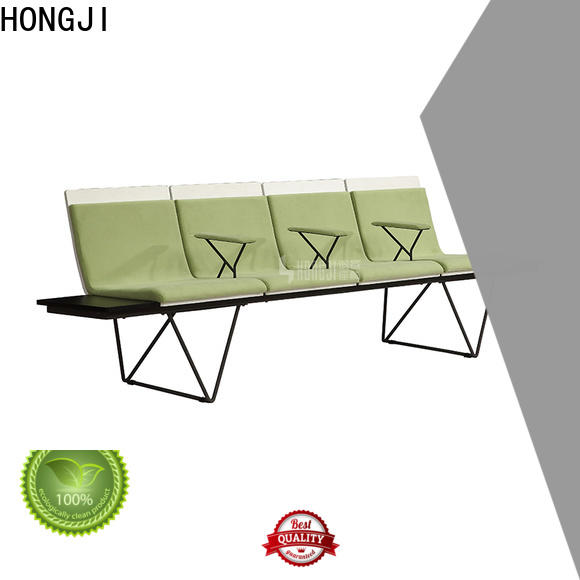 HONGJI h72a3f reception area chairs factory for travel terminal