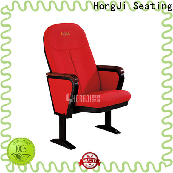 HONGJI high-end two seat theater seating manufacturer for cinema