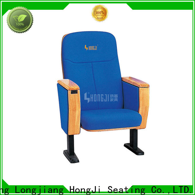 HONGJI outstanding durability best church chairs supplier for office furniture
