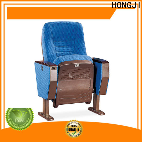 HONGJI newly style custom theater seating manufacturer for office furniture
