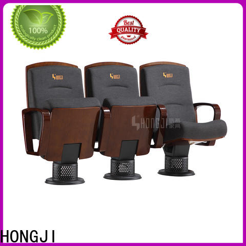 HONGJI elegant auditorium theater seating manufacturer for office furniture